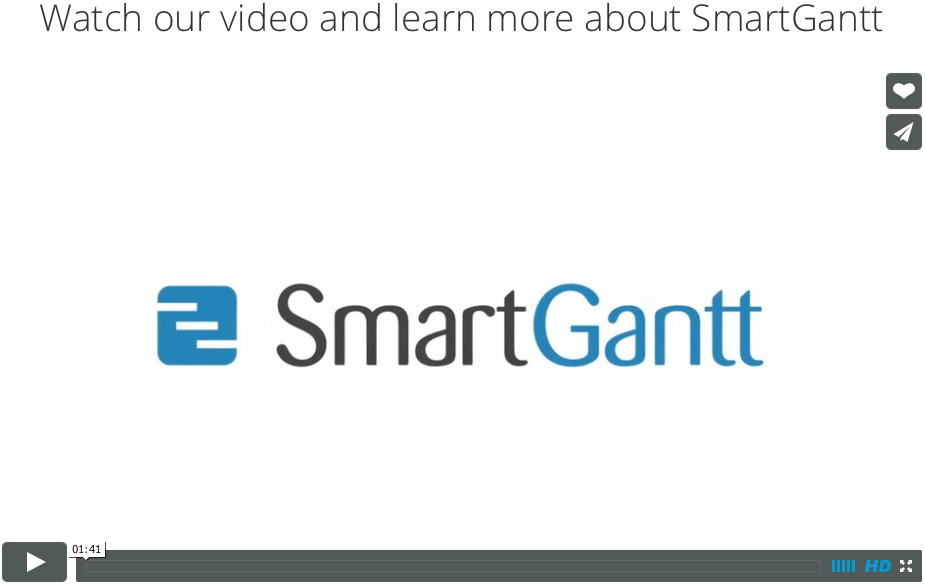 SmartGantt intro video